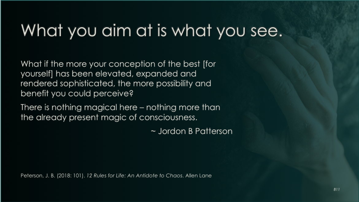 What you aim at is what you see!